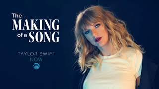 Taylor Swift cantando Delicate Video