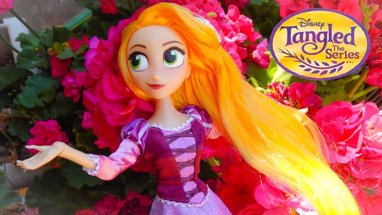 Disney S Tangled The Series Rapunzel Doll Review Youtube