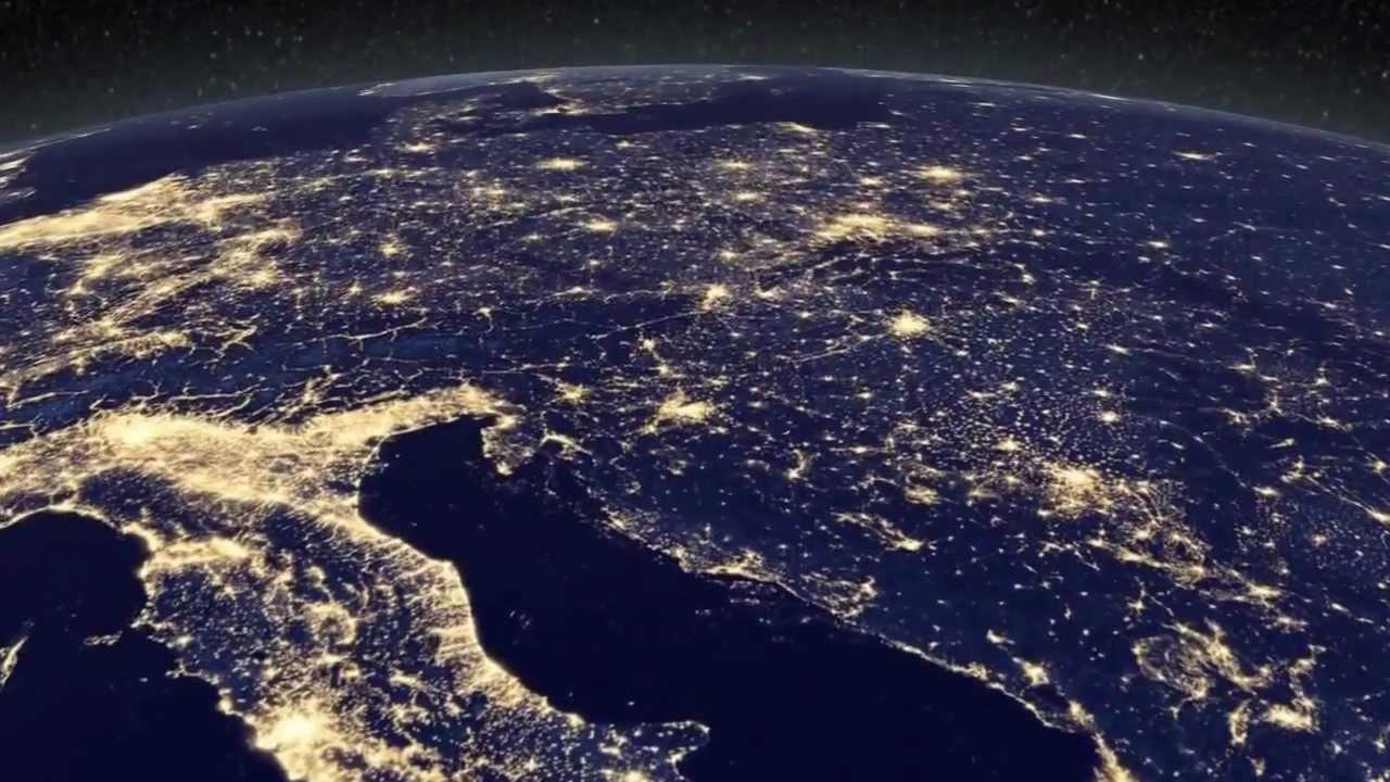 Las Imágenes Nocturnas Más Detalladas De La Tierra Hd Youtube