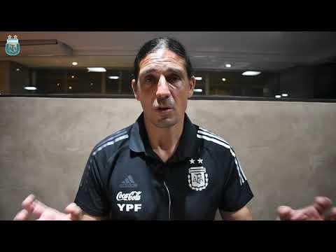 #SelecciónFemenina Germán Portanova analizó la fecha FIFA ante Brasil