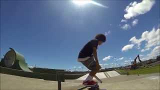 Last skate at Randwick skatepark
