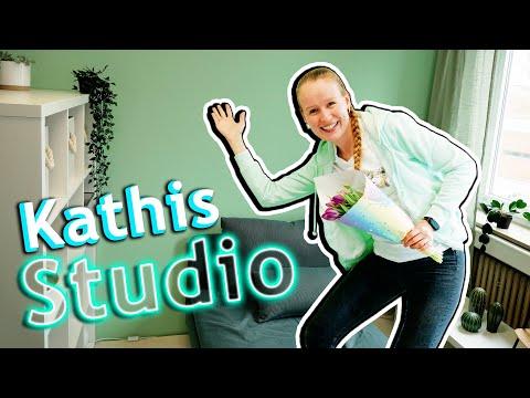 Zu Besuch in KATHIS NEUEM STUDIO | Endlich fertig! DIY Inspiration Studiotour mit Bianca Eva & Kathi