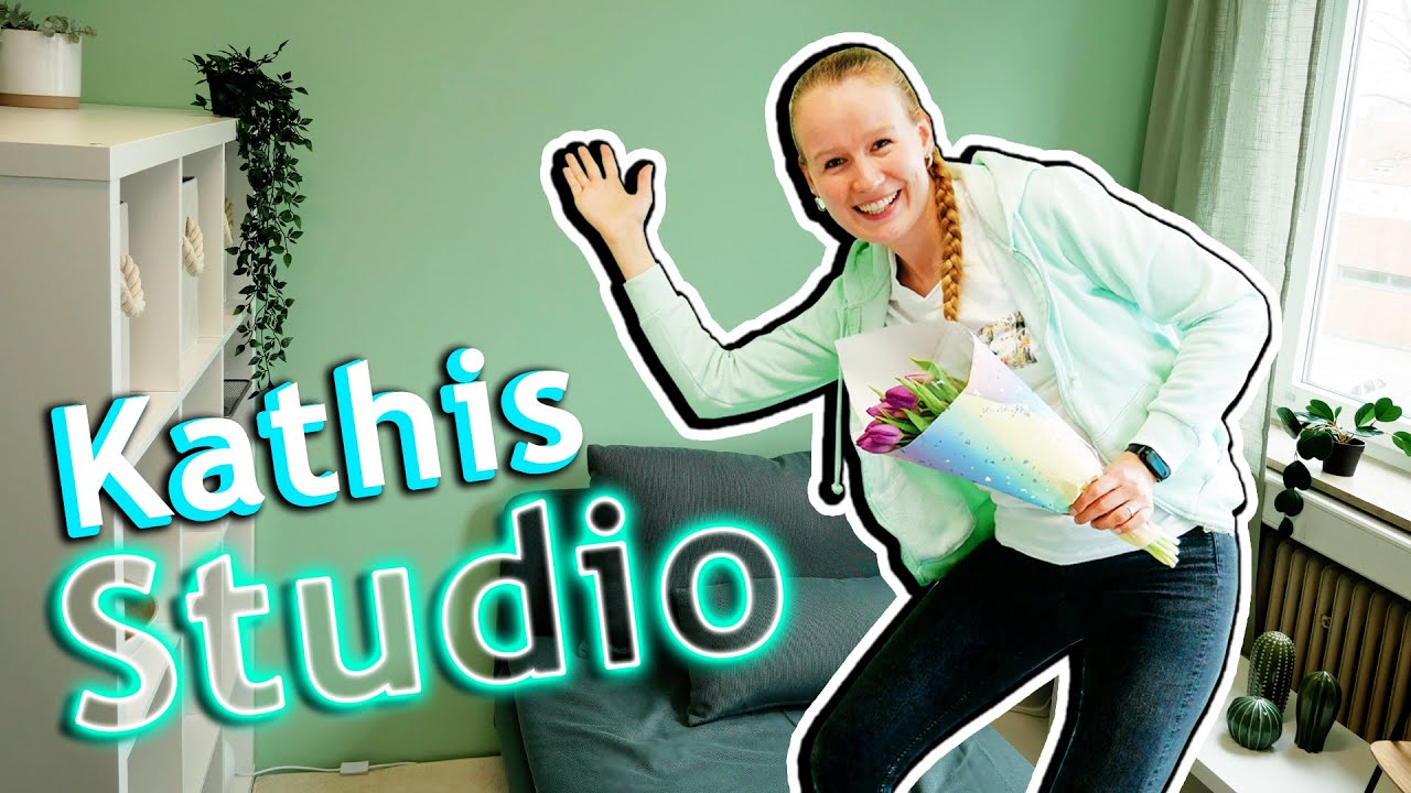 Download Zu Besuch in KATHIS NEUEM STUDIO   Endlich fertig! DIY Inspiration Studiotour mit Bianca Eva & Kathi