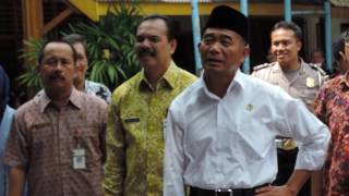 Keramahan Mendikbud dengan Siswa SMK N 4 Semarang