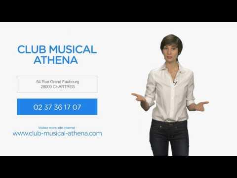 Cours de chant, de guitare, de piano à Chartres : CLUB MUSICAL ATHENA