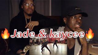 Jade chynoweth & kaycee Rice ft Kyle Hanagami Choreography -  How Long [ REACTION ]