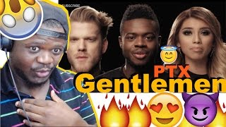 [OFFICIAL VIDEO] God Rest Ye Merry Gentlemen - Pentatonix REACTION