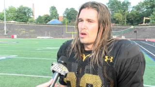 Towson Football Practice Update