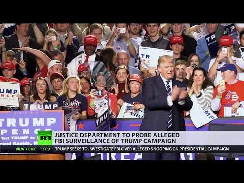 DOJ to launch probe into Trump campaign 'infiltration' by FBI
