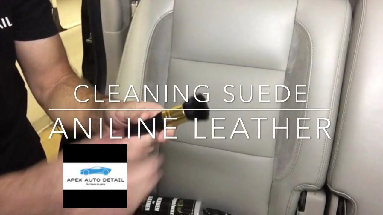 Aniline Leather Suede Faux