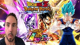 MOST RIDICULOUS LUCK?!?! NEW LR Goku & Frieza Summoning Event! Dragon Ball Z Dokkan Battle