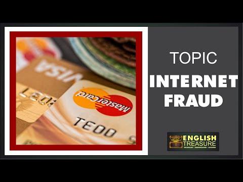 Luyện nghe tiếng anh qua chủ đề: Lừa đảo trên internet (Internet Fraud: English Treasure – Vocabulary, Listening, Pronunciation)