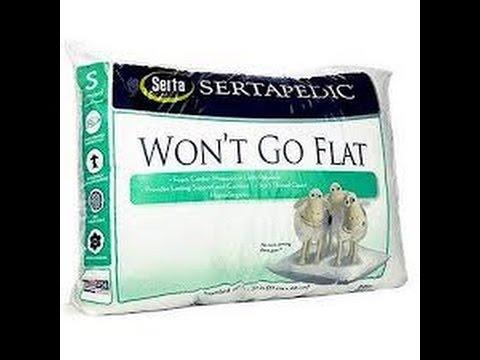 never go flat pillow online