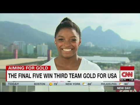 Simone Biles looks ahead to the 2020 Olympics