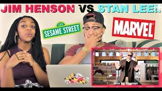 "Epic Rap Battles of History ""Jim Henson vs Stan Lee"" Reaction!!!"