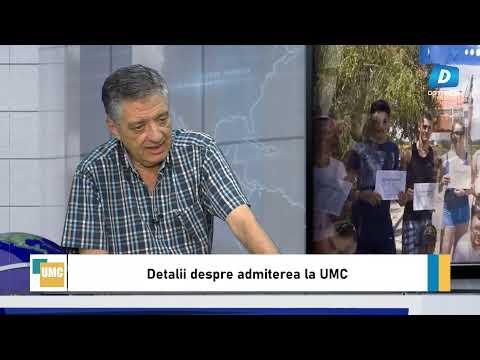 Despre admiterea la UMC - invitat Presedintele Senatului UMC Cornel Panait