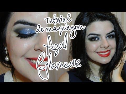 Tutorial de Maquiagem: Azul Glamour