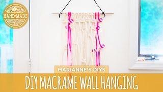 Diy Macrame Wall Hanging - Skill Swap - Hgtv Handmade