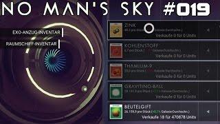 NO MAN'S SKY | Meine Beutelgift-Sucht | #019 | ★ LIVE LET'S PLAY ★ [Deutsch / German]