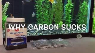Most people regularly use carbon in their filters, and i'm doing th...