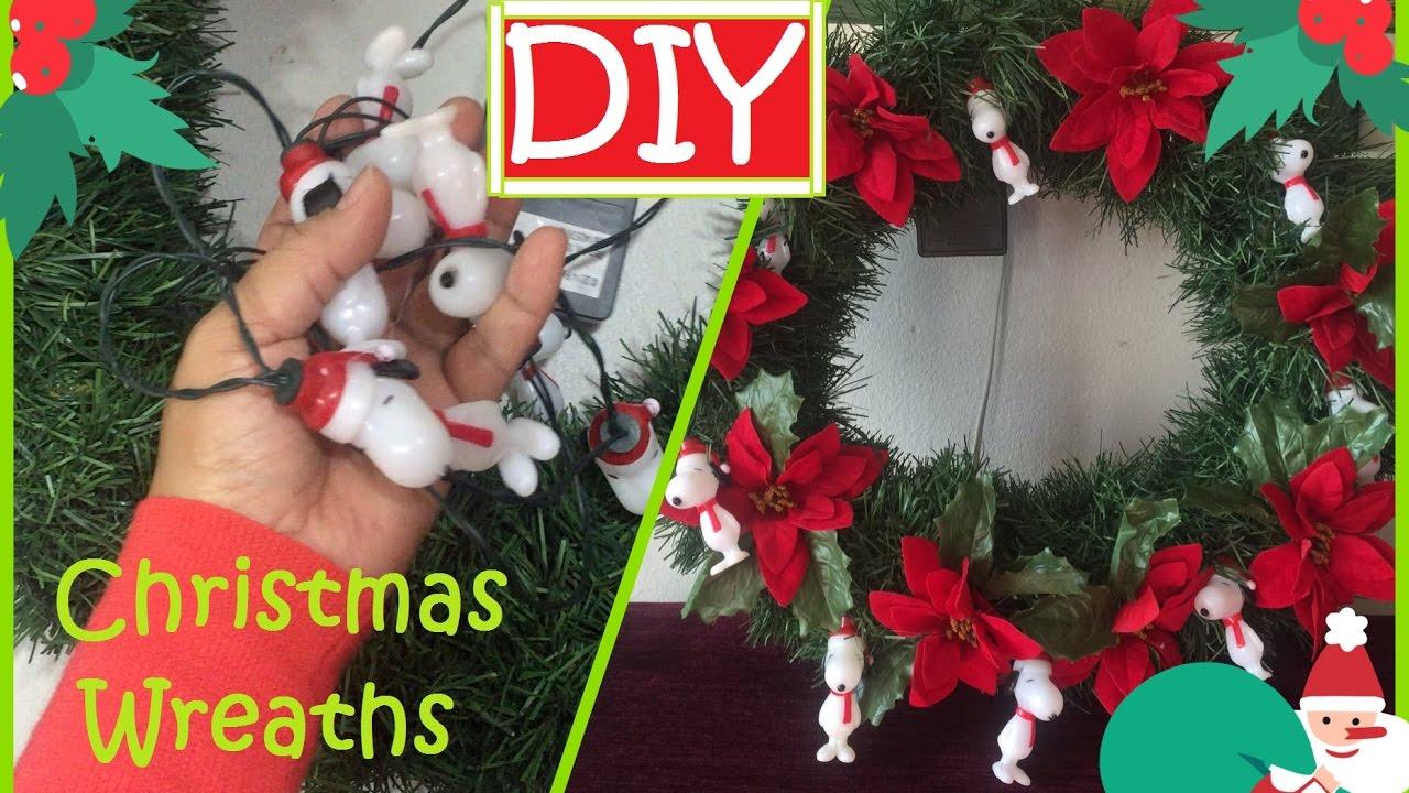 Diy Christmas Wreaths Garland Recycled Your Kids Pool Foam Noddles 48