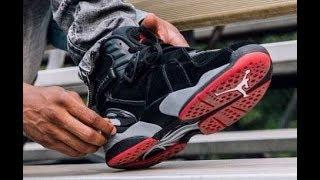 Air Jordan 8 Bred Retro Sneaker Honest Review