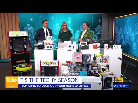 Arcade1Up Australia Launch - TODAY Show – 1 December 2020 from Sean Andrews