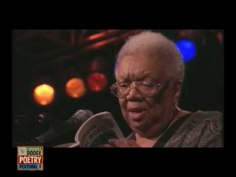 Lucille Clifton Reading in the 2008 Dodge Poetry Festival Saturday Night Sampler - 9/27/08