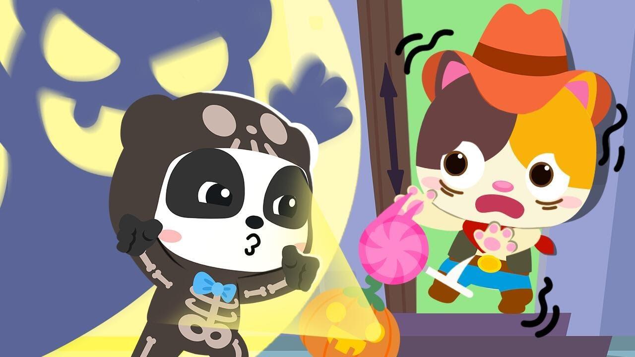 Trick or Treat, BOO! 👻 | Halloween Songs for Children | Nursery Rhymes | Kids Cartoon | BabyBus