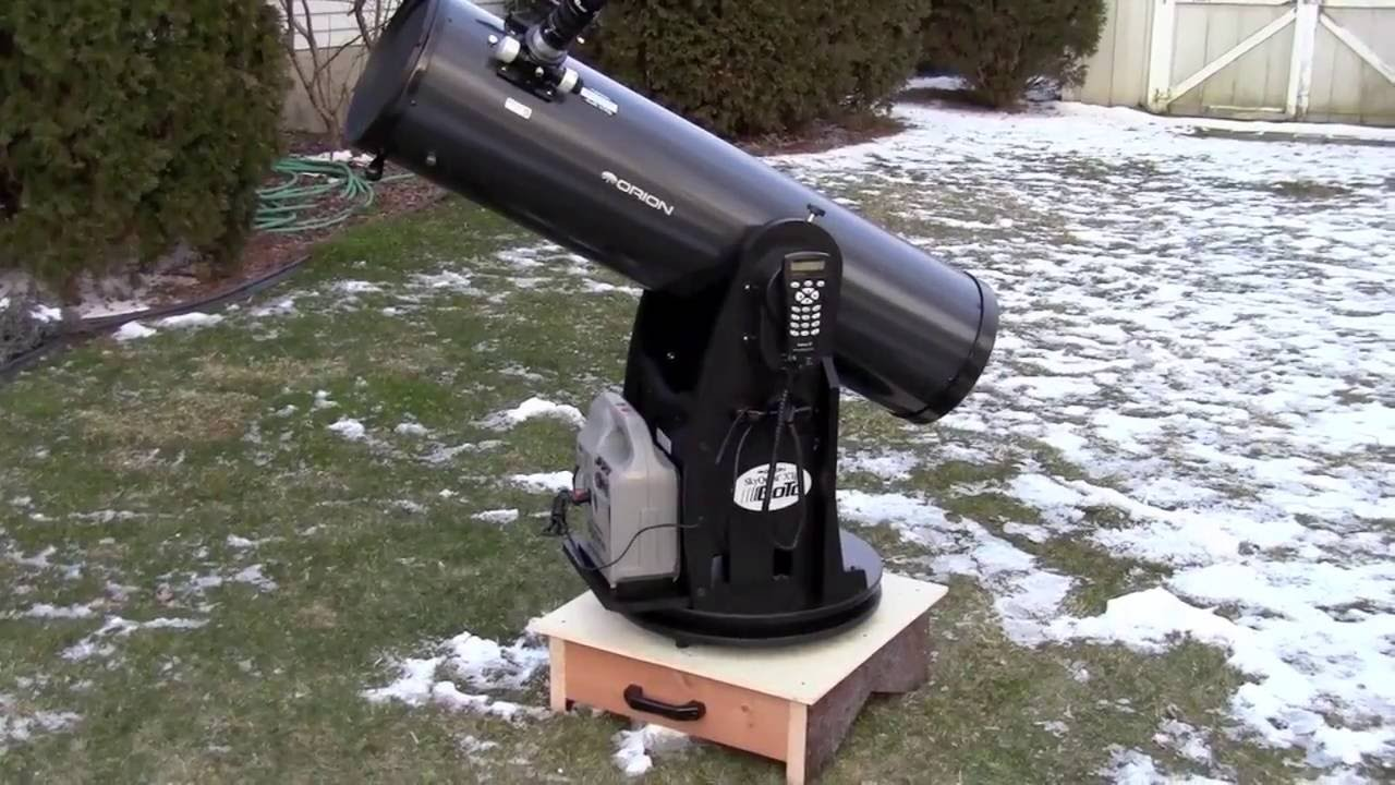 how to build a dobsonian telescope mount