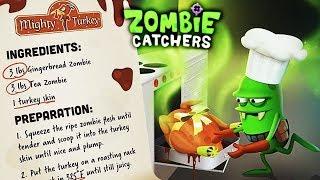 Zombie Catchers ОХОТА на ЗОМБИ ВКУСНЯШКИ - НОВЫЙ ПРОДУКТ Мульт игра для детей ЛОВЦЫ ЗОМБИ