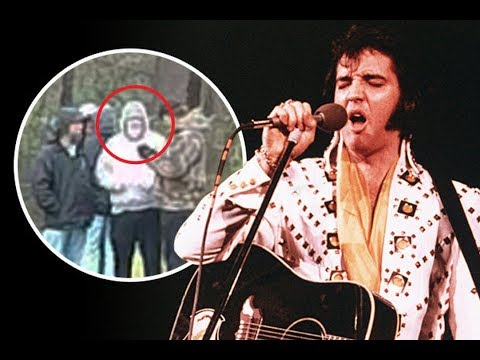 The King NOT DE*D? Bearded Elvis Presley 'spotted ALIVE at Graceland on his 83rd birthday'