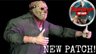 Friday the 13th: The Game NEW PATCH! | More Bug Fixes & Exploits Removed | PS4 Pro Gameplay