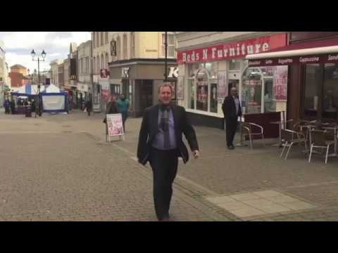 Aldershot Regeneration  - shop fronts January 2018