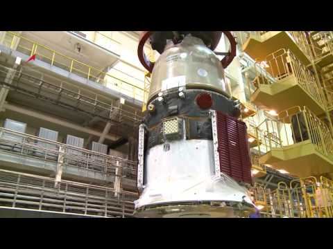 Soyuz MS-03  is Mated to the Transfer Compartment