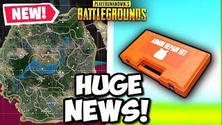 BIG NEWS! PUBG Mystery Map Coming SOON! New Repair Kit Found
