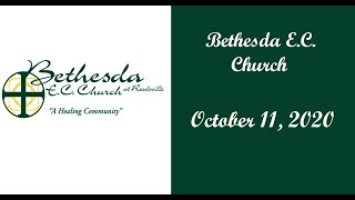 Bethesda EC Church - Schuylkill Haven - Sunday, October 11, 2020