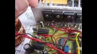 vuclip Home made SMPS 1000w pure sine wave inverter