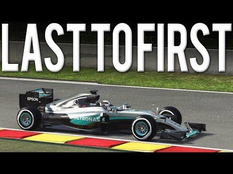 F1 2016 BELGIAN GP LAST TO FIRST | LEWIS HAMILTON | ULTIMATE AI & 100% RACE