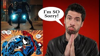 I'm SO Sorry To Venom....And All The Others!