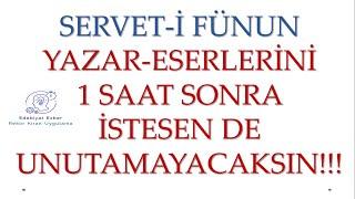 Serveti Fünun Edebiyatı - HAFIZA TEKNİKLERİYLE - AYT Edebiyat