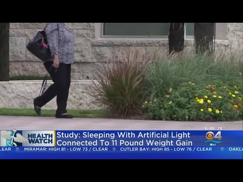 Study: Sleeping With TV On Can Lead To Weight Gain