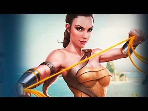 Injustice 2 Gameplay #100 - Amazon Wonder Woman (Movie Edition) Unlocked