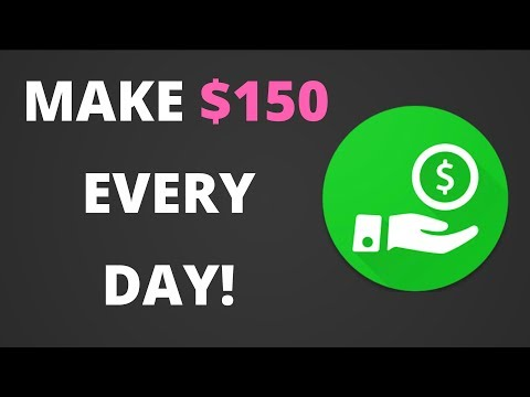 HOW TO MAKE $150 A DAY WITH JUST ONE APP! {EASY}