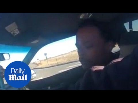 Denver mayor's son caught THREATENING officers on camera