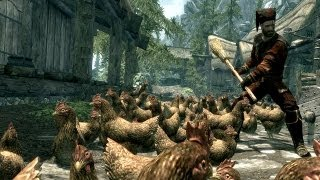 Camping with the Exploding Handyman - Top 5 Skyrim Mods of the Week