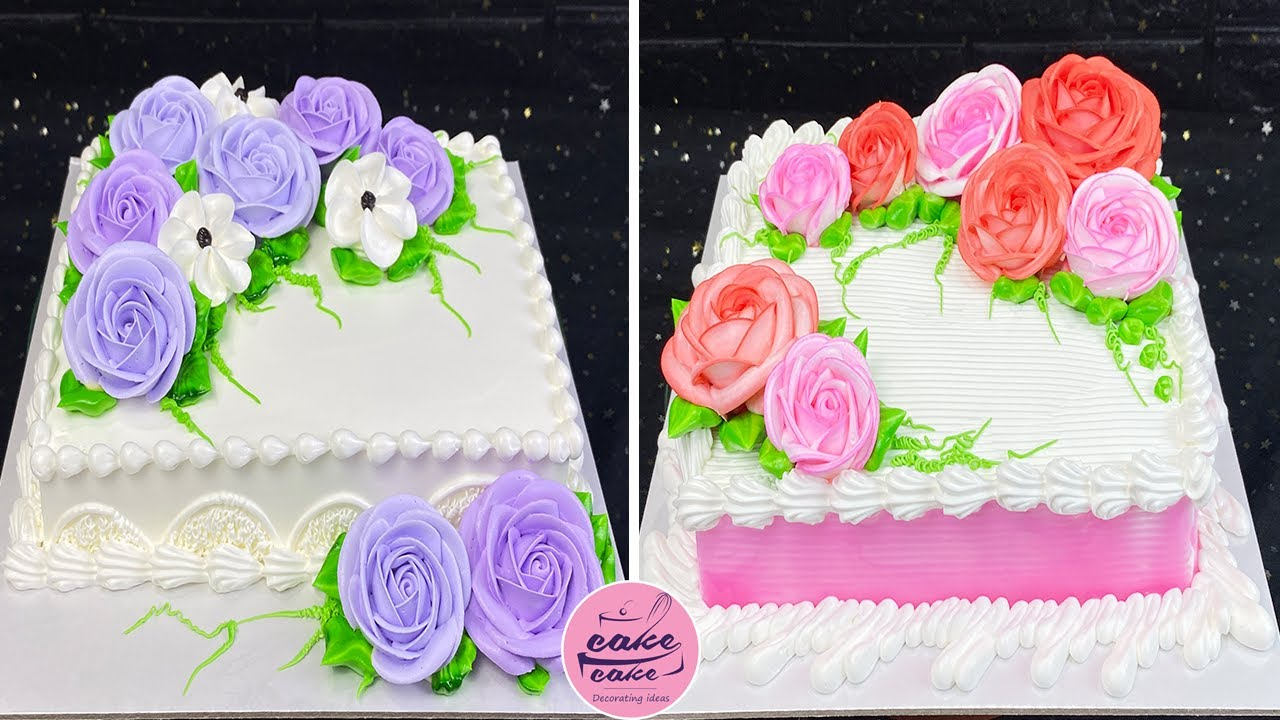 Tasty & Quick Cake Decorating Tutorials For Cake Lovers | Dilicious Cake Decorating Ideas