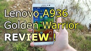 Lenovo A936 Golden Warrior Note 8 - Full Review - Best Octa Core Phablet under 200$ ! [HD]