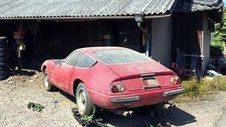 日本の納屋で眠っていたフェラーリが2億円!40年ぶりの発見に驚愕!