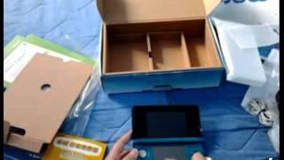 Unboxing de Nintendo 3DS (español) desde México